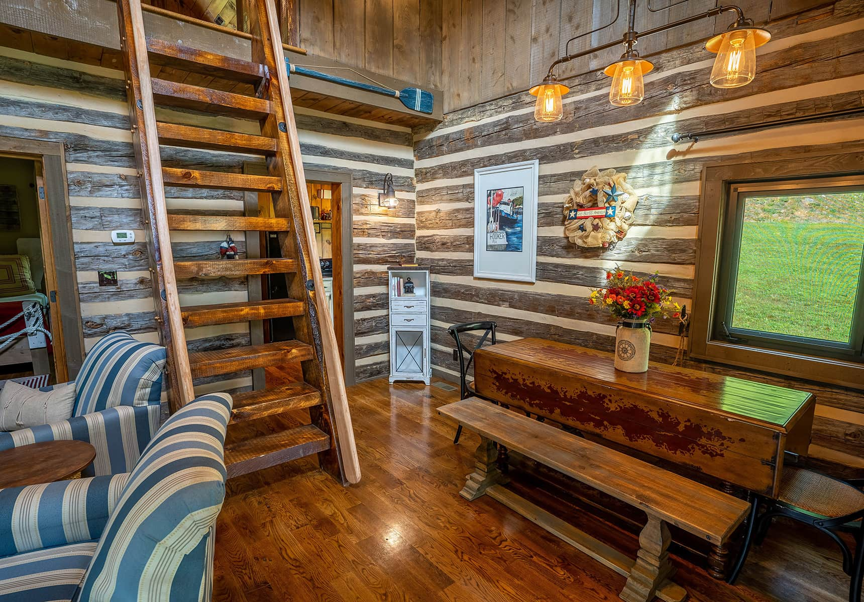 Boathouse loft ladder - Vacation Rental in Monroe County