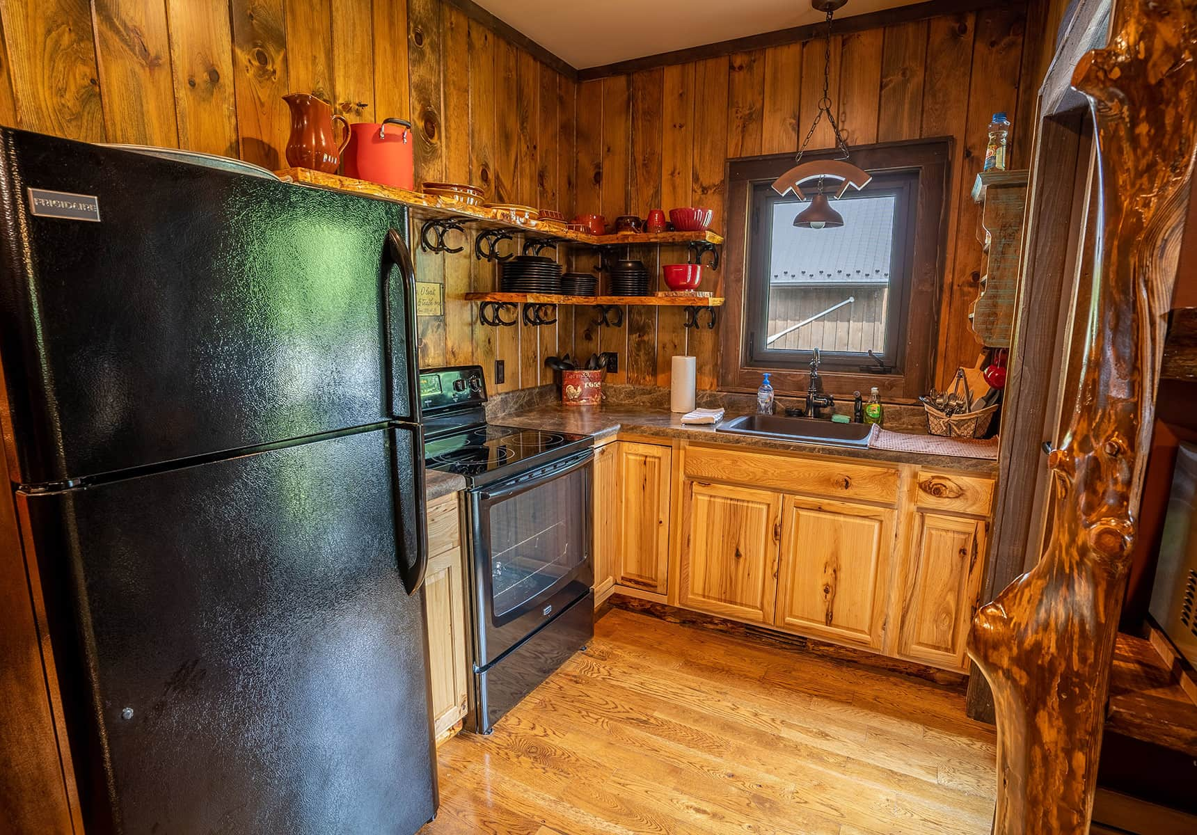 Inn in West Virginia - Cabin Kitchen