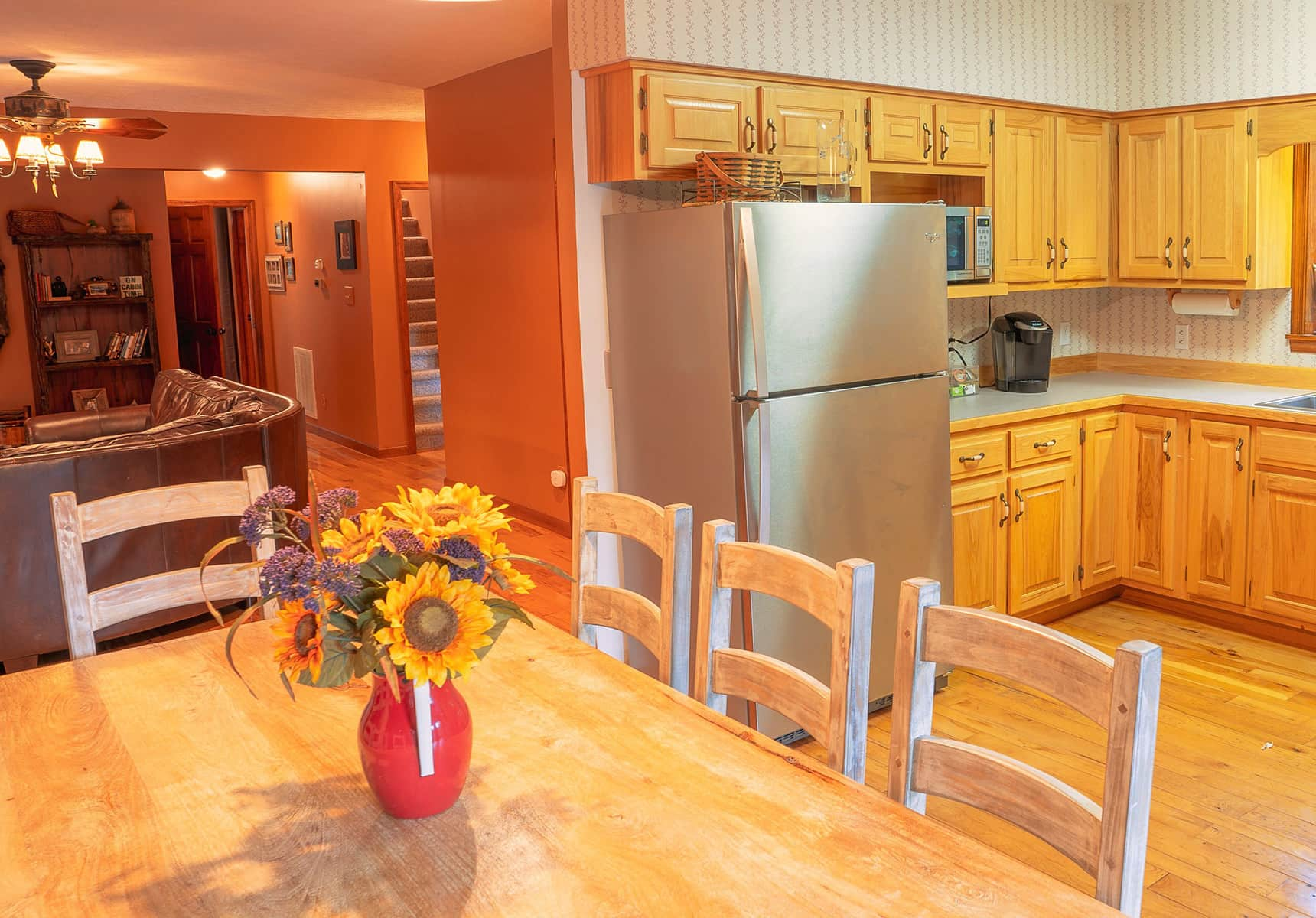 Creekside Home kitchen in Monroe County WV