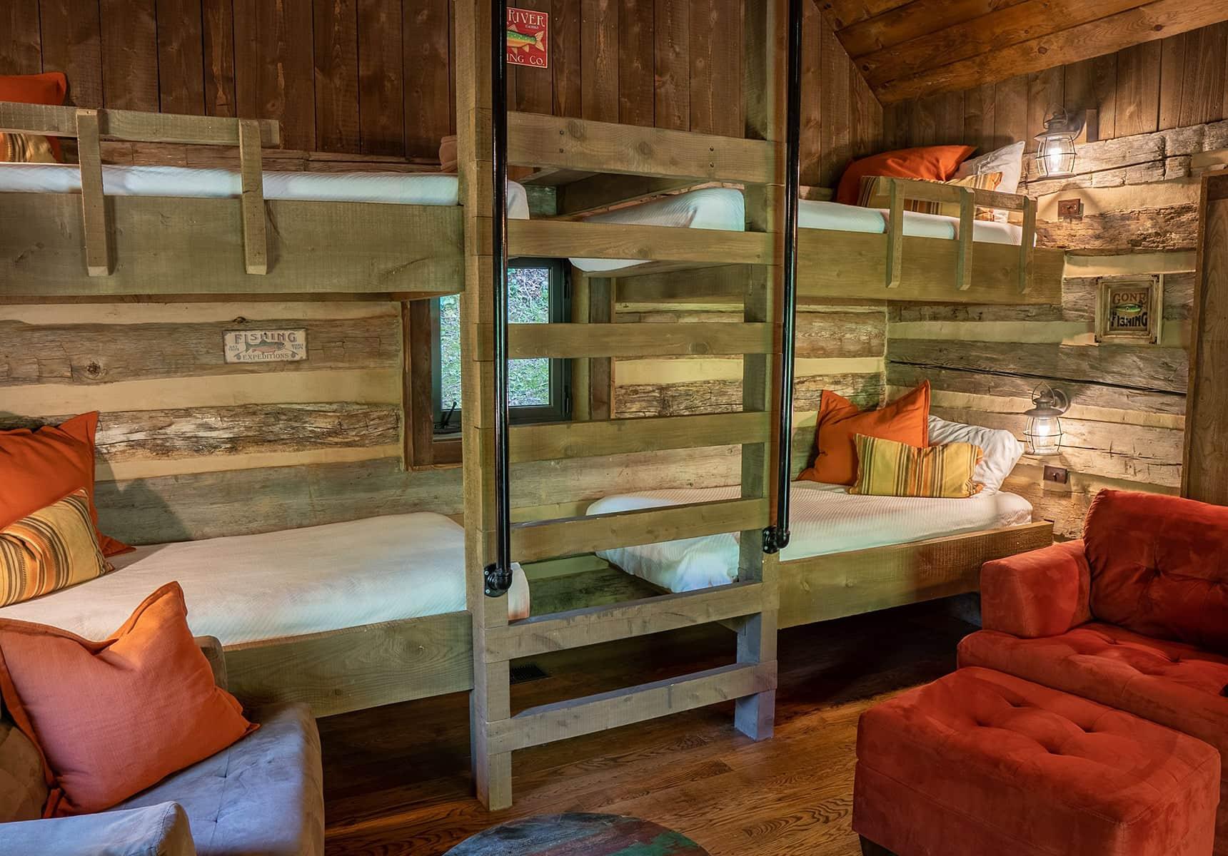 Fishing Creek Cabin bunks - Vacation Rentals in West Virginia