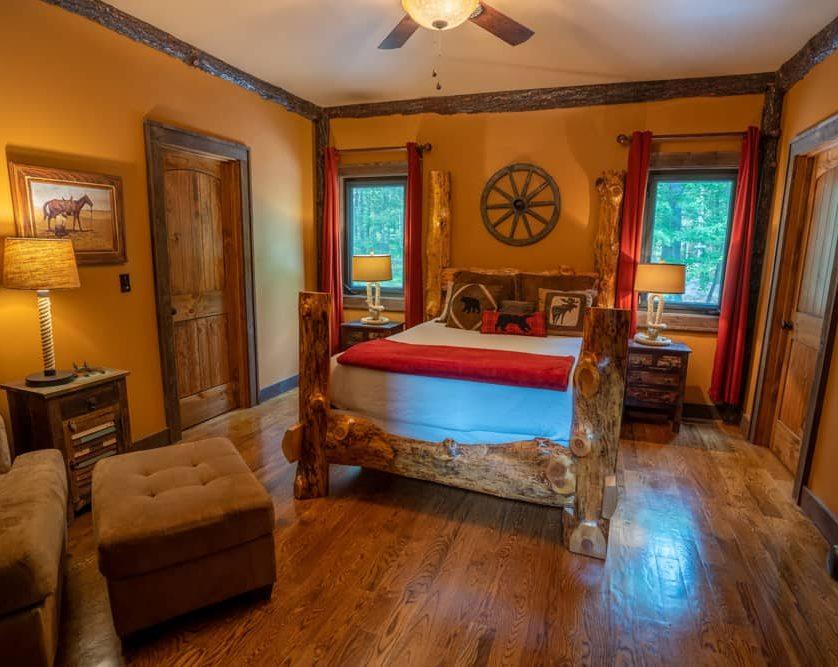 Cowboy Cabin Room