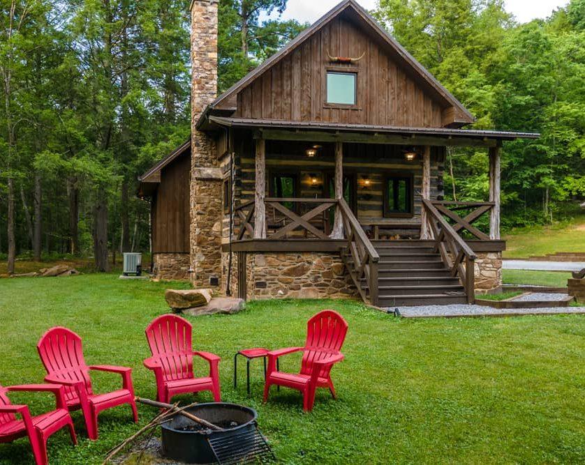 Cowboy Cabin Fire Pit