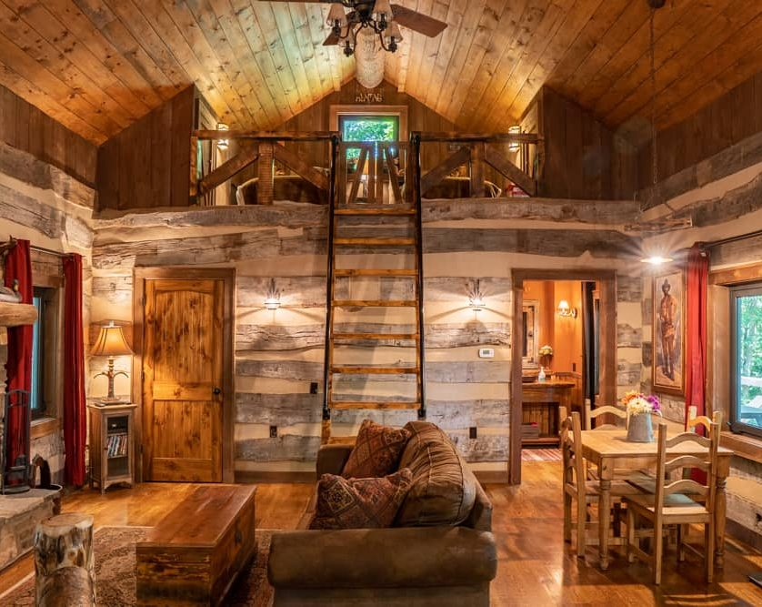 Hunting Cabin Living Room