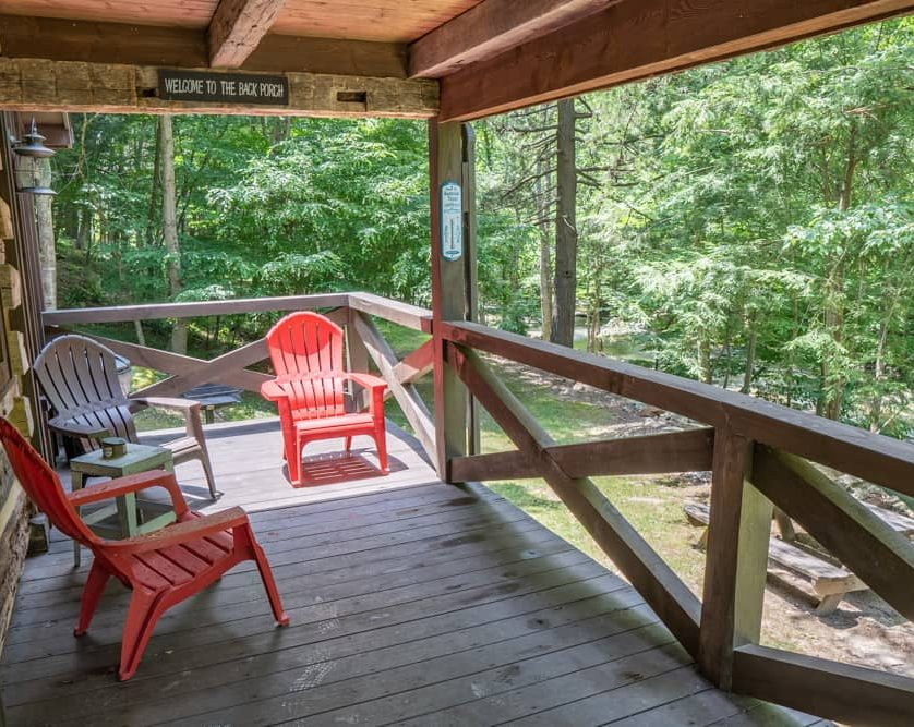 Fishing Cabin Porch